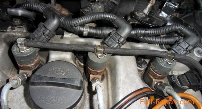 Форсунки в двигателе CRDI