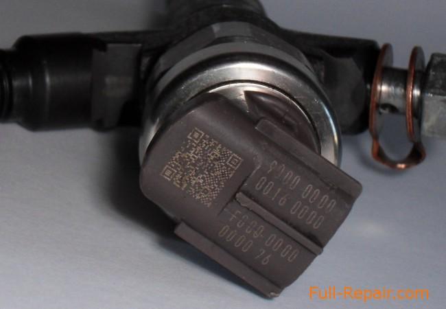 Поправочный код по количеству впрыскиваемого топлива на форсунке DENSO 1465A041 (095000-5600)